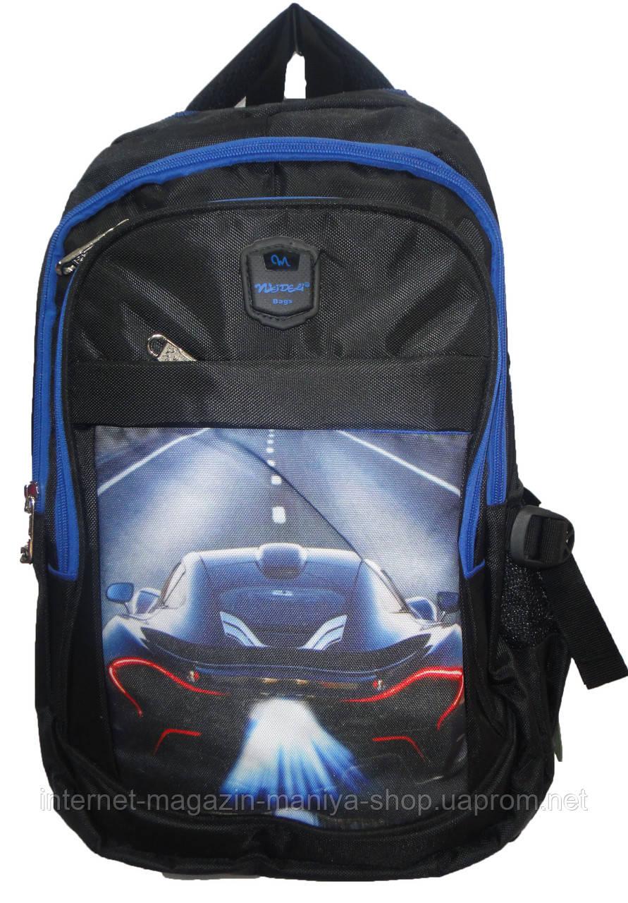 Рюкзак для мальчика JM1979 машина