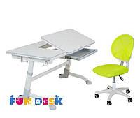 Парта для подростка FunDesk Amare Grey + Детское кресло LST1