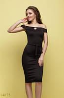 Женское платье Мичелина черный
