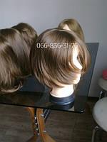 Женский парик из натуральных волос.