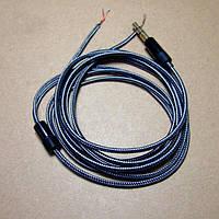 Аудио кабель в нейлоновой оплетке провод для наушников Koss Porta Pro Sony AKG JVC Sennheiser Grado