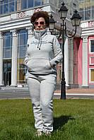 Женский спортивный костюм на флисе; разм 48,50,52,54,56