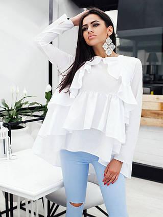 27bf618349b Элегантная женская блузка-туника 0131