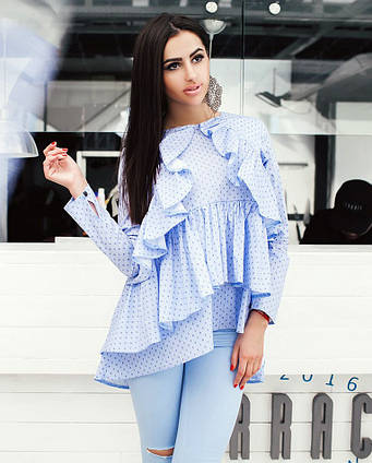 6b113cedac5 Элегантная женская блузка-туника 0131