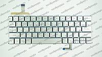 Клавиатура для ноутбука ACER (AS: S7-191) rus, silver, подсветка клавиш, без фрейма