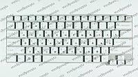 Клавиатура для ноутбука SONY (VGN-CW series) rus, white, без фрейма