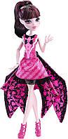 Кукла Монстер Хай Улетная Дракулора с платьем трансформер - Летучая мышь Monster High
