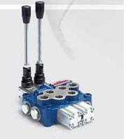 Гидравлический распределитель моноблочный HPMV-3/2S - 2 секции (45 л/мин)