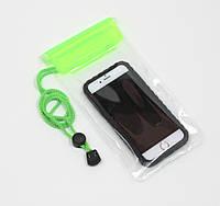 """Водонепроницаемый чехол """"Waterproof"""" зеленый для iPhone"""