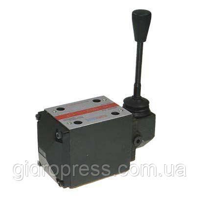 Гидрораспределитель плитового монтажа с ручным управлением - ED2 HP-JF-4WMM6, фото 1