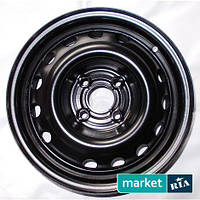 Штампованные (железные) диски Kapitan Kap Black (R15 W6 PCD4x98 ET35 DIA58.1)