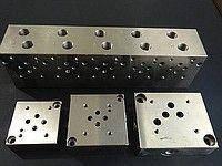Плита монтажная ULRA 6, DN 06, секционная с отверстием под предохранительный клапан
