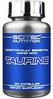 Купить аминокислоты Scitec Nutrition Taurine 90 caps