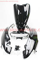 Пластик основной комплект 5 деталей на скутер Honda DIO AF-34