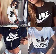 Футболка женская Nike Adidas