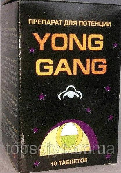 Препарат Yong Gang для улучшения потенции