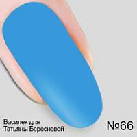 Гель лак №66 Василек для Татьяны Бересневой из коллекции Опиум Nika Nagel, 10 мл