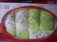 Полотенца махровые в падарочной упаковке(6шт.)