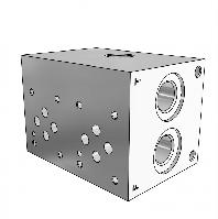 Плита гидравлическая монтажная 2 секции DN10