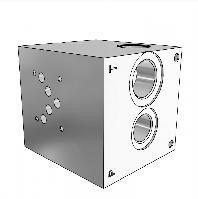 Плита гидравлическая монтажная 1 секция DN10