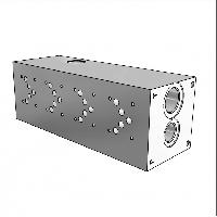 Плита гидравлическая монтажная 4 секции DN10