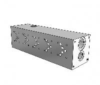 Плита гидравлическая монтажная 5 секции DN10