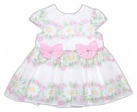 Летнее платье для малышки  р-ры 80,86