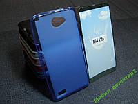Чехол бампер силиконовый LG Max X155  L Bello 2