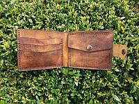 Удобный кожаный кошелёк ручная работа