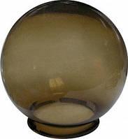 Плафон - шар - дымчатый - D200 мм - основание - резьбовое
