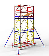 Передвижная сборно-разборная вышка 2,0 х 2,0 м (4+1) Раб.высота 7,4 м