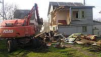 Демонтаж деревянного дома, фото 1