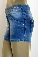 женские джинсовые шорты c бисером,камнями Ayaa, фото 3