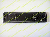 Рамки номера карбон (PH-80050) нержавейка