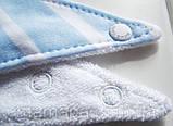 Слюнявчики нагрудники MOM'S CARE с махровым слоем набор 3шт для самых маленьких, фото 4