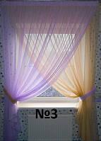 Комплект красивых штор в детскую комнату