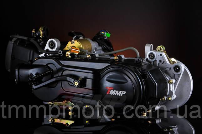 Двигатель 139qmb 4 такт YABEN-80 см3 под 10 колесо два амортизатора, фото 2