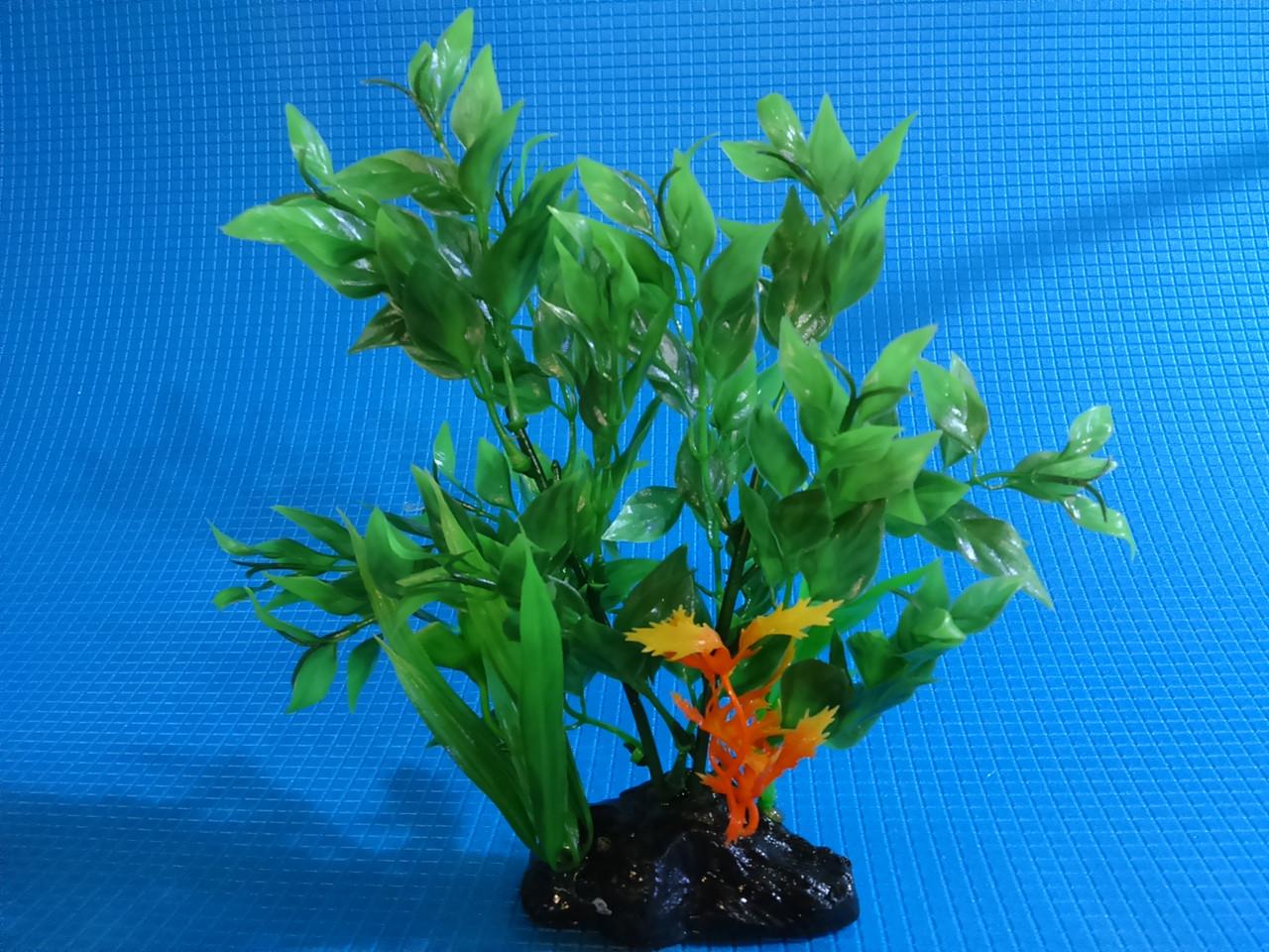 """Пластиковое растение серии """"Sunny"""" HP- 068С, 20см"""