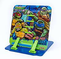 """Подставка для книг цветная металлическая """"Ninja Turtles"""" 1 Вересня"""