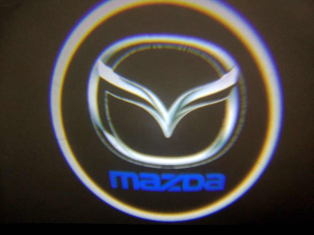 Подсветка дверей врезная для Mazda