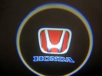 Подсветка дверей врезная для Honda