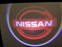 Подсветка дверей врезная для Nissan