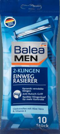 Станки одноразовые мужские Balea men Einwegrasierer 2-Klingen
