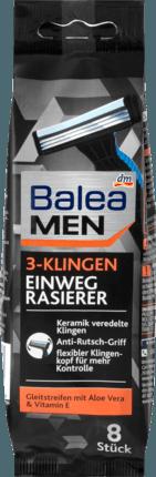 Станки одноразовые мужские Balea men 3-Klingen, 8 шт.