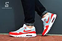 Мужские кроссовки  Nike Air Max, красные