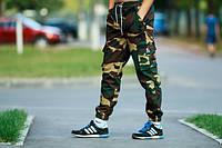 Камуфляжные штаны с карманами Ястреб