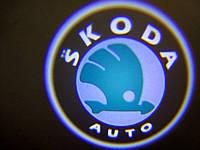 Подсветка дверей штатная для Skoda