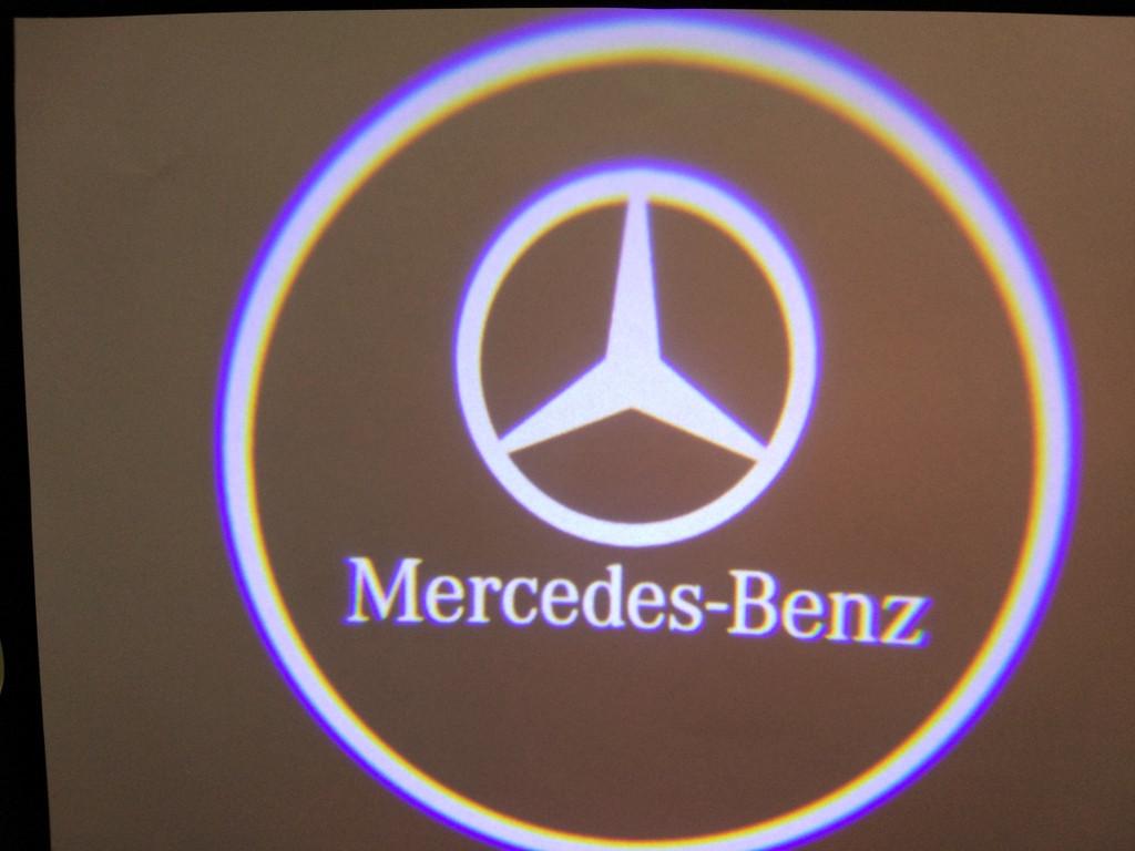 Подсветка дверей штатная для Mersedes