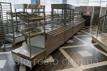 Линия раздачи с декоративной панелью по минимальной цене 2013 года!!!