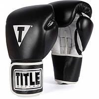 Боксерские перчатки TITLE Pro Style Leather Training Gloves